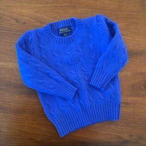 Ralph Lauren Cashmere sweater 2t
